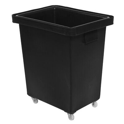 Recycled Bottle Skip 150ltr Black | Bar Truck, Glass Bottle Recycling Bin