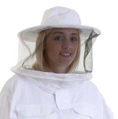 Beekeeping White Round Veil for Buzz Work Wear Suits x 2