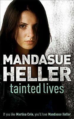 Tainted Lives by Heller, Mandasue Paperback Book The Cheap Fast Free Post