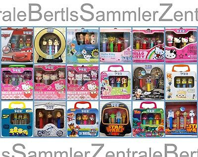 PEZ - Gift sets - LIMITED - Metal Box - Tin - Please select !!!