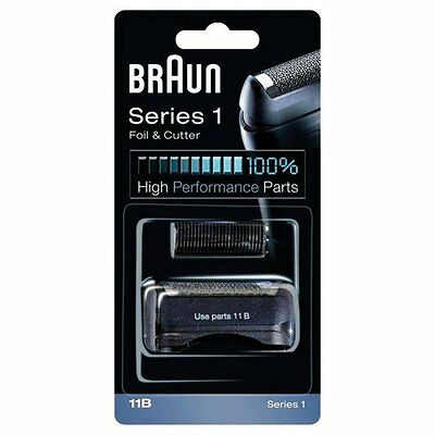 Braun 11B Series 1 Replacement Mens Mans Shaver Foil and Cutter Combi Pack