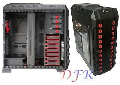 Case Per Pc Gaming Atx Full Tower Usb3.0 Docking Station Senza Alimentatore