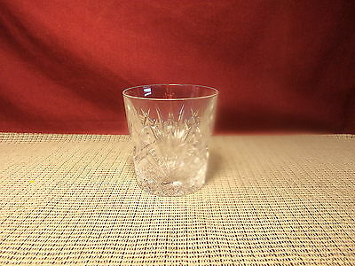 """Cristal d""""Arques Crystal Villemont Pattern Double Old Fashioned Glass 3 3/4"""""""