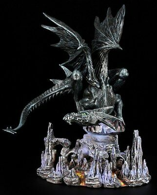 Drachen Figur - Vulthar the Destroyer - Fantasy Dragon Deko Statue