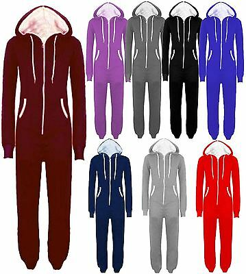 New Mens Womens Unisex One Piece Jumpsuits All In One Hooded Suits M-5XL