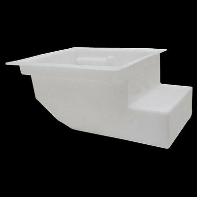 Lund White Poly Boat Livewell / Baitwell Tank / Storage Box / Container