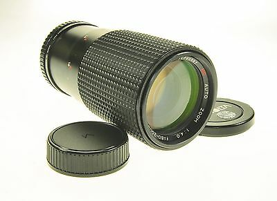 Minolta Md Mount JcPenney Mc Auto Zoom 80-200mm F4 Camera Lens
