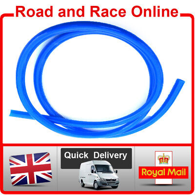 Motorcycle Fuel Line Petrol Pipe 5mm I/D x 8mm O/D 1m Length Blue Fuel Hose