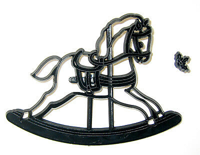 Patchwork Cutters ROCKING HORSE Sugarcraft Cake Decorating