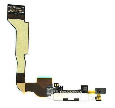New White Dock connector for iPhone 4 4g  CDMA  A1349 Charging Port Flex Cable
