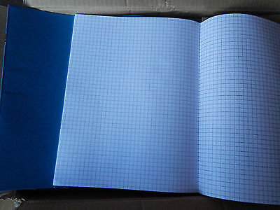 Exercise books! 5mm SQUARED 80 page MATHS School/Office/Work! 9 inches x7 inches