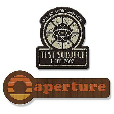 Portal 40s and 70s Aperture Laboratories Logo Employee Collectible Patch S