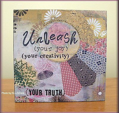 Unleash Your Joy And Creativity Wall Art By Kelly Rae Roberts Free U.s. Shipping