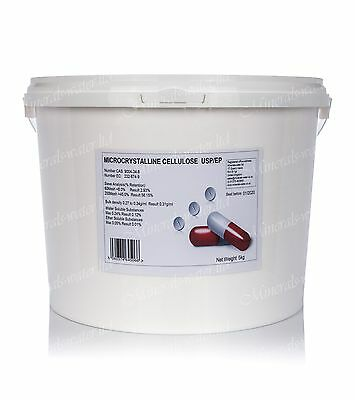 5kg Microcrystalline Cellulose pure USP,EP pharmaceutical grade Superb quality