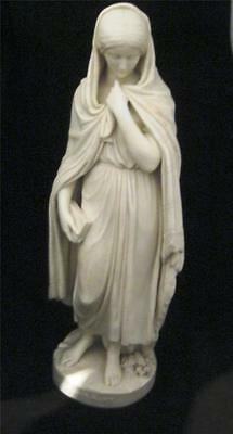 "HIGHLAND MARY C19th Parian Figure of  circa 1850 16"" Tall"