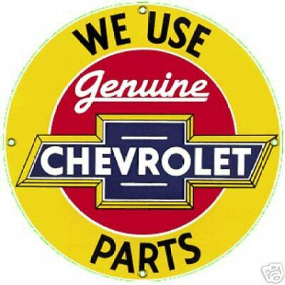 Chevrolet Parts enamelled steel fridge magnet  (ar)