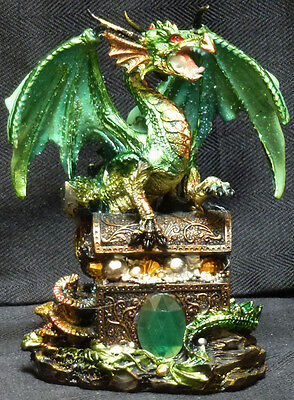 """GREEN PROTECTION Dragon on Chest  H6"""""""
