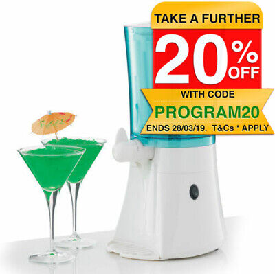 Tiffany SM710 Frozen 1L Cocktails/Mocktail Slushie Maker/Icy Creation/Cold Drink