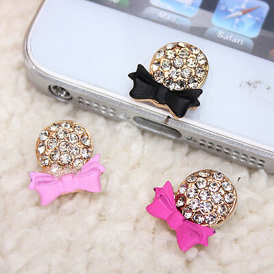 Alloy Crystal Diamond Rosette Home Button Sticker For Apple iPhone 5 5C 5S iPad
