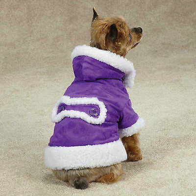 X-LARGE boxer pit bull HOODED DOG COAT sweater jacket clothes apparel XL