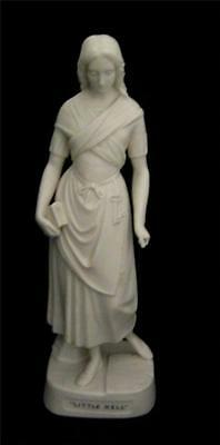 Little Nell C19th Parian Figure by Copelands