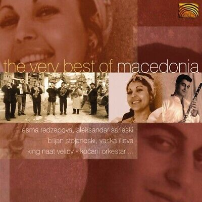 Various Artists - The Very Best Of Macedonia [New CD]