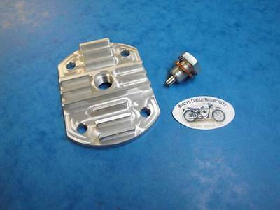 Triumph Alloy Sump Plate With Magnetic Plug 1938-62 Pre Unit 5T Tiger100 6T T120