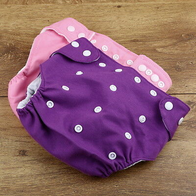 Newborn Baby M2terproof soft Strong absorbent material Cloth Nappy Diaper M2