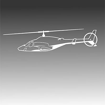 Airwolf Helicopter Decal 222 Television Military Chopper Pilot Sticker