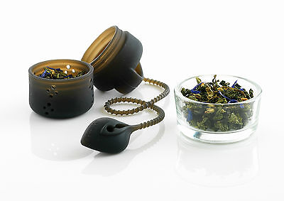 Silicone Tea Infuser in Charcoal by Mastrad