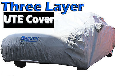 Samson Ute Cover Utility 3 Layer Car Waterproof for Ford Holden Falcon Commodore