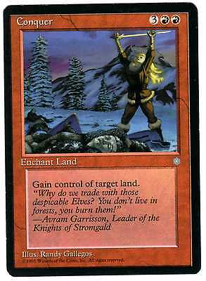 Conquista - Conquer carte card Magic Era Glaciale Ice Age  ITA/ENG