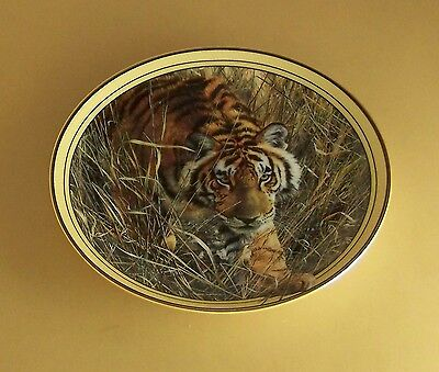 Seasons of the Tiger: A Masters Collection ON THE PROWL Plate #1 + COA & Leaflet