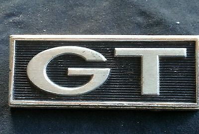 FORD MUSTANG GT EMBLEM FENDER PLATE C7GB-16720-B