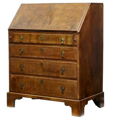 18Th Century Walnut Bureau Of Small Proportions