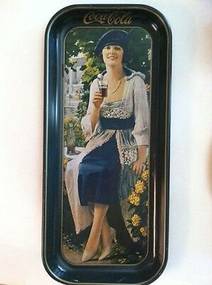 Vintage 1973 Coca-Cola Tray from 1921 Advertisement 1920s Woman Coke