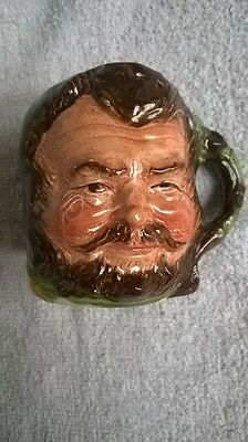 COOPER CLAYTON MINIATURE TOBY JUG LITTLE JOHN GOOD CONDITION
