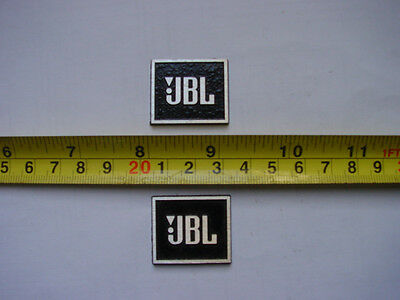 JBL aluminum Badge for your antique restoration