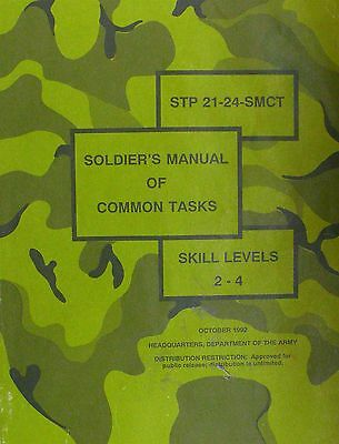 STP21-24-SMCT Soldier's Manual Of Common Tasks Skill 2-4 Department Of Army 1992