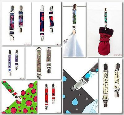Multifunctional Mitten Clips for GLOVES, BLANKET,SNOWBOARD