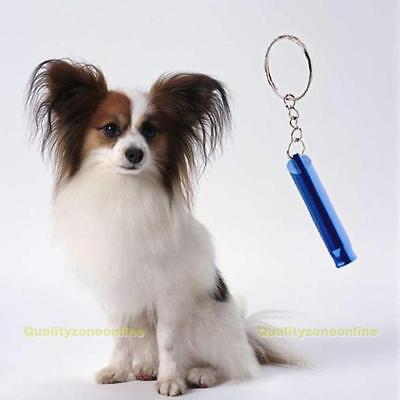 Pet Dog Training Obedience Metal Whistle UltraSonic Supersonic Sound Pitch Quiet