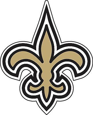 3bcccd33e16 New Orleans Saints NFL Football sticker wall decor large vinyl decal