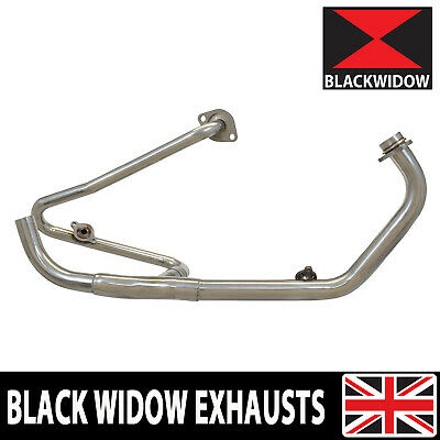 Xl125 V Varadero Jc49 Exhaust Down Front Pipes Collector Headers 2008-2016