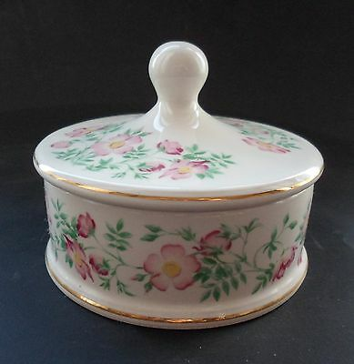 Wade Ringtons Trailing Rose Trinket Box/Bowl with Lid (Boxed)