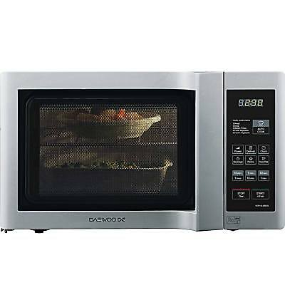 Daewoo KOR6L6BDSL 20L 800W Duo Plate Touch Control Microwave in Silver New