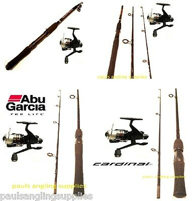 Abu Garcia Spin / Spinning Kit Rod Reel  Choice of rods and Reels