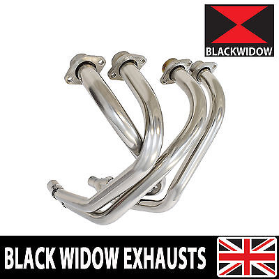 Yamaha XJ 600 S N Diversion 4-2 Stainless Exhaust Front Pipes Downpipes Headers