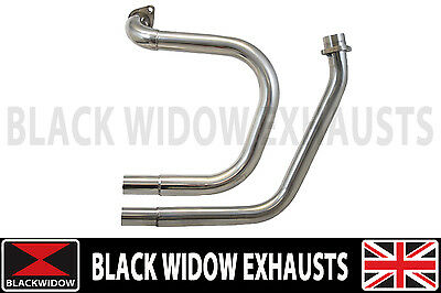 Nt650 Nt 650  Deauville Exhaust Downpipes Frontpipes Down Pipes Front Pipes