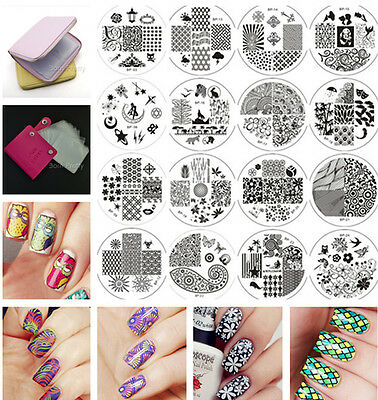 BORN PRETTY #01-35 New Nail Art Design Stamp Stamping Template Image Plates