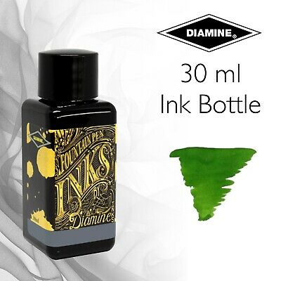 Diamine Bottled Ink (30ml) For Fountain Pens - Greens
